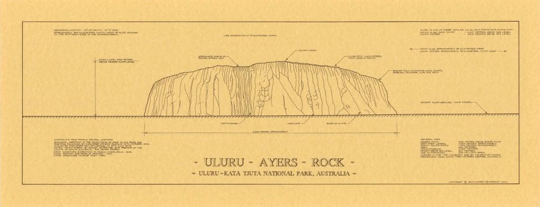 Uluru / Ayres Rock Print